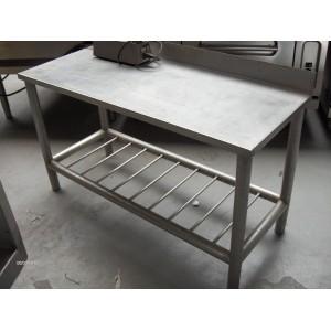 Werktafel B1250 x D 500 x H 700 mm., occ.
