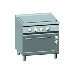 Doorkookplaat elektrisch ATA + elektrische oven 1/1 GN