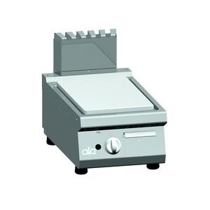 Bakplaat (glad) op gas ATA enkel tafelmodel