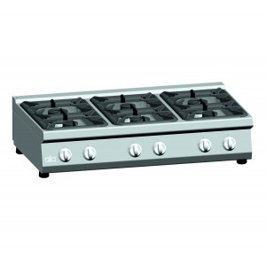 Kooktafel ATA 6-pits tafelmodel