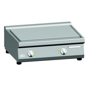 Bakplaat (glad) elektrisch ATA dubbel tafelmodel