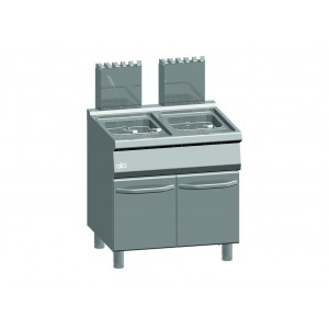 ATA friteuse op gas 15+15 liter