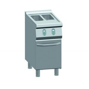 ATA friteuse elektrisch 9+9 liter - elektrische regelaar