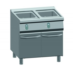 ATA friteuse elektrisch 15+15 liter - elektrische regelaar
