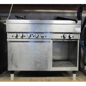 Gasfornuis Mareno 6-pits met oven
