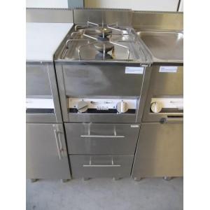 Kooktafel Combisteel 2-pits 600 SKT
