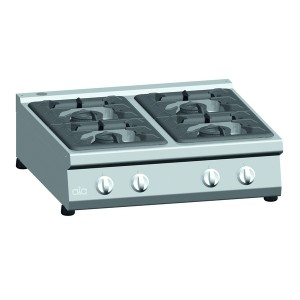Kooktafel ATA 4-pits tafelmodel (power branders)