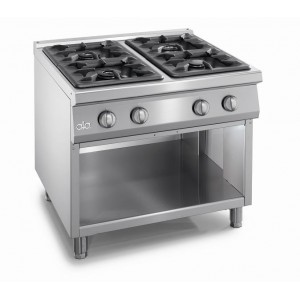Kooktafel ATA 4-pits + open onderstel
