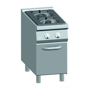 Kooktafel ATA 2-pits + deur