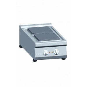 Kooktafel ATA elektrisch 2-plaats tafelmodel