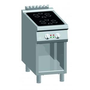 Kooktafel ATA inductie 2-zones met open onderstel