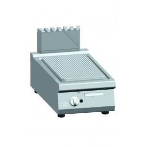 Bakplaat ATA (ribbel) op gas enkel tafelmodel