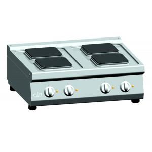 Kooktafel ATA elektrisch 4-plaats tafelmodel